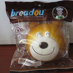 Jumbo Breadou Goody Murphy Bear Bread Bun Squishy Happy Original Packaging | eBay