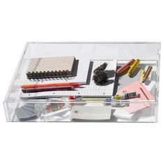 boite rangement stuff box hay grande Largeur36,5cm Longueur46,5cm Hauteur8,5cm
