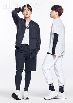 Jungkook x Jimin BTS for High Cut they be Slaying♡♡