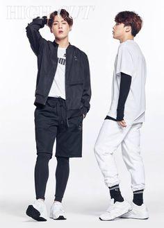 Jungkook x Jimin BTS for High Cut