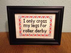 A brand new roller derby design.
