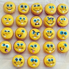 Emoticon Cupcakes