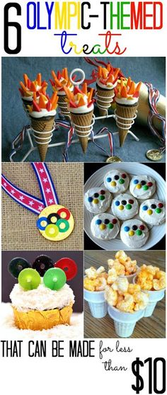 6 Olympic Themed Treats (that you can make for less than $10!) - All Cheap Crafts