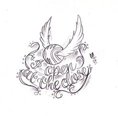 Golden Snitch Tattoo Sketch by Nevermore-Ink on @DeviantArt
