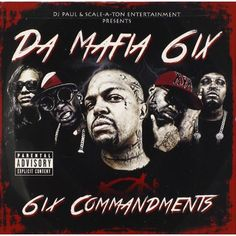 New music from the new iteration of Three 6 Mafia featuring SGP, and Bizzy and Krayzie Bone. The Commandments mixtape drops in a couple of hours. Previously: Da Mafia ft. Yelawolf – Go Hard (Video) Lord Infamous, Minions, Bizzy Bone, Project Pat, Three 6 Mafia, Shady Records, Rap Album Covers, Yelawolf, Parental