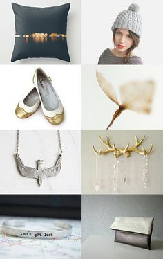 Silver and Gold // #Etsy