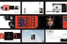 Presentation Layout, Powerpoint Presentation Templates, Modern Powerpoint Design, Powerpoint Themes, Professional Presentation, Mise En Page Portfolio, Site Inspiration, Lookbook Layout, Keynote Design