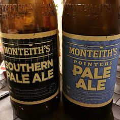 #thirstthursday. Couple of #monteiths #paleale for #thirstythursday. Mild & sweet and easy to slam for #rehydration #postworkout. #beer #winechatty #winechattypeter