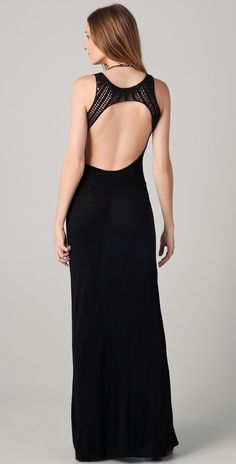 closet...Shopbop YFB Harpe Maxi Dress..Love the back on this. A sexy twist on a maxi.