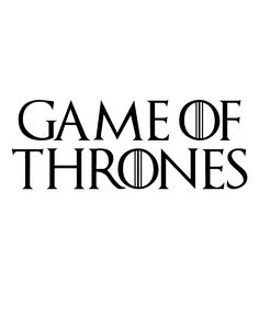 Game of Thrones Font Engraving