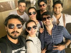 Now look at that, my all favourite peeps fit in my group taken Selfie from my #OPPOF3 #DaulSelfieCamera Launching on the 4th May...Stay tuned. #Aineeb #AimanKhan #MubeebButt #MinalKhan #Friends #Forever #PakistaniActresses ✨