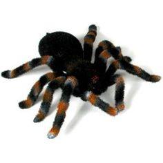 Remote Control Tarantula  - scare your friends!  http://www.coolgizmotoys.com/2011/02/remote-control-tarantula.html