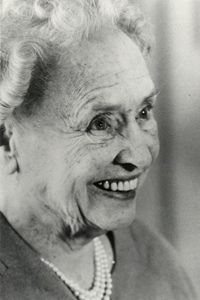 Helen Keller beaming on her 80th birthday.  This woman taught me to give thanks for all my blessings and to never take any of them for granted.