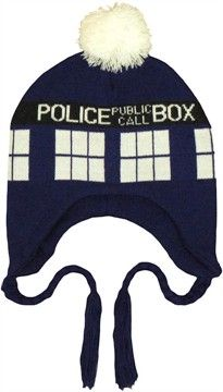 15% off all Laplands & Beanies - Doctor Who TARDIS Lapland Beanie ($17.00)
