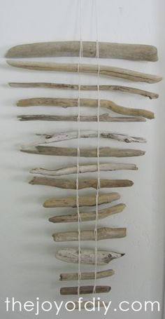 Driftwood Art - to hang bracelets over in the jewelry bathroom.