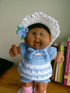 "Beautiful Baby -15"" CPK - Free Original Patterns - Crochetville"