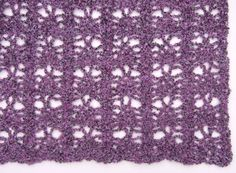 No Beginning Chain Strawberry Lace Blanket - Afghans Crocheted My Patterns - - Mama's Stitchery Projects