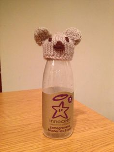 Bear Big Knits, Fruit Smoothies, Crochet Dolls, Beanies, Pomegranate, Charity, Age, Bear, Knitting