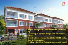 The #resort life #style #villa at #Mayur #Springdale-Bommasandra/Electronic City