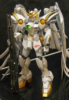 GUNDAM GUY: PG 1/60 Wing Gundam Zero Custom - Painted Build