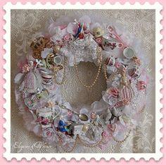 Victorian High Tea Wreath