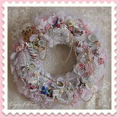 Victorian High Tea Wreath