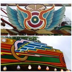 Colours, Graphics and Lettering at the Fairground Typography Design, Lettering, Signwriting, Truck Art, Fun Fair, Psychedelic Art, Traditional Design, Art Google, Art Deco