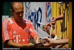 FC Bayern München Training Summer Camp 2012 in Riva del Garda.