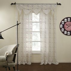 Floral Country  sheer Curtains  #sheer #sheercurtain #custommade #curtains #homedecor
