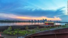Picture New York's High Line with a riverfront -- Crescent Park is a 1.4-mile recreational corridor bordering the Mississippi that includes a fenced dog run, picnic areas, and hike and bike trails.