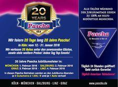 20 Jahre Pascha Köln – Heyevent.de Salzburg, Autos, Prize Draw, 20 Years