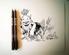 Concep art. Ilustración de GonzaVLK