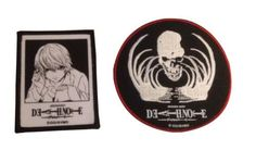 Death Note Bone and Death Note Near Patch Set of 2 Licensed Patches New in Pkg
