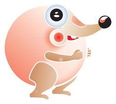 Ipsu | Design and illustration: Elina Holley | #illustration #mascot, #character #design #ElinaHolley