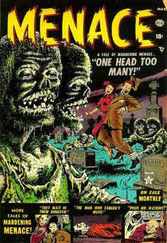 Cover for Menace (Marvel, 1953 series) #1