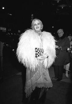 Candy Darling (1970) was an American actress, best known as a Warhol Superstar. A male-to-female transsexual, she starred in Andy Warhol's films Flesh and Women in Revolt, and was a muse of the protopunk band The Velvet Underground.