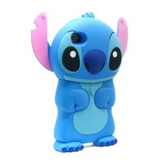 iPhone 4 / 5 - Cute Cartoon Alien Lilo Silicone Case