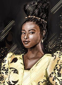 Lights Artist, Digital Portrait, Queen, Artist Painting, Amanda, Instagram Images, Portraits, Head Shots, Portrait Photography