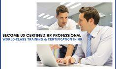 World Class Training & Certification in HR