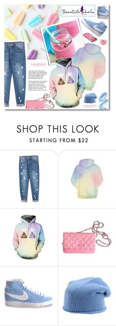 """""""Beautifulhalo"""" by janee-oss ❤ liked on Polyvore featuring Michael Kors, Tiffany & Co., Chanel, NIKE, Stefanel, Incase and bhalo"""