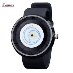 Brand Name:Enmex Item Type:Quartz Wristwatches Water Resistance Case Shape:Round Boxes & Cases Material:Paper Style:Fashion & Casual Model Nu Unusual Watches, Black Fire, Hand Watch, Mo S, Famous Men, Hand Designs, Sport Casual, Simple Style, Lady