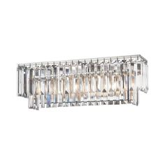 null Palacial 3-Light Polished Chrome LED Vanity Light