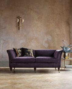 Pompadour highback sofa - Beaumont & Fletcher