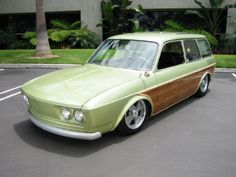 1973 VW TYPE 4 412 WAGON