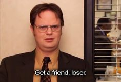 Sometimes we wish we could be more like Dwight from The Office. The Office Quotes Dwight, Best Office Quotes, Dwight Quotes, Dwight Schrute Quotes, Office Memes, Senior Quotes Inspirational, Film Quotes, Funny Quotes, Office Wallpaper