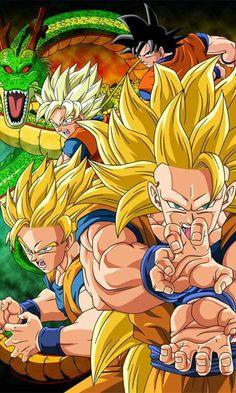 Goku Ssj 1,2,3 Shenlong