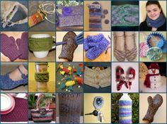Gettin' It Pegged! Freebies loom knitting patterns with video tutorials. Yay!