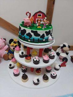 The birthday cake an
