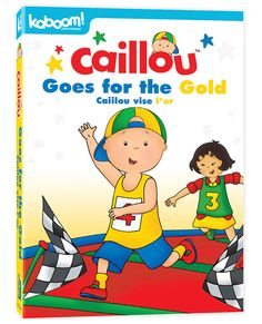 Caillou vise l'or DVD