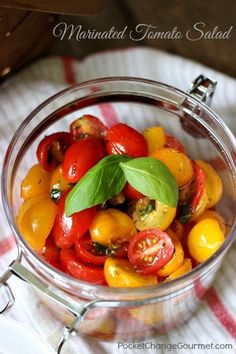 Marinated Tomato Sal